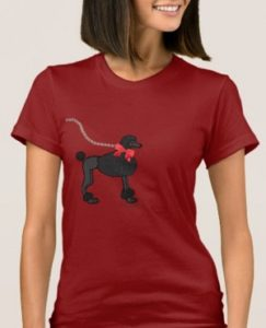 Poodle tee for solopreneur