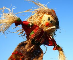 Scarecrow girl as pseudonym