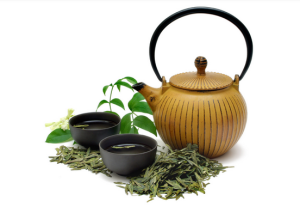 tea pot and tea for import business